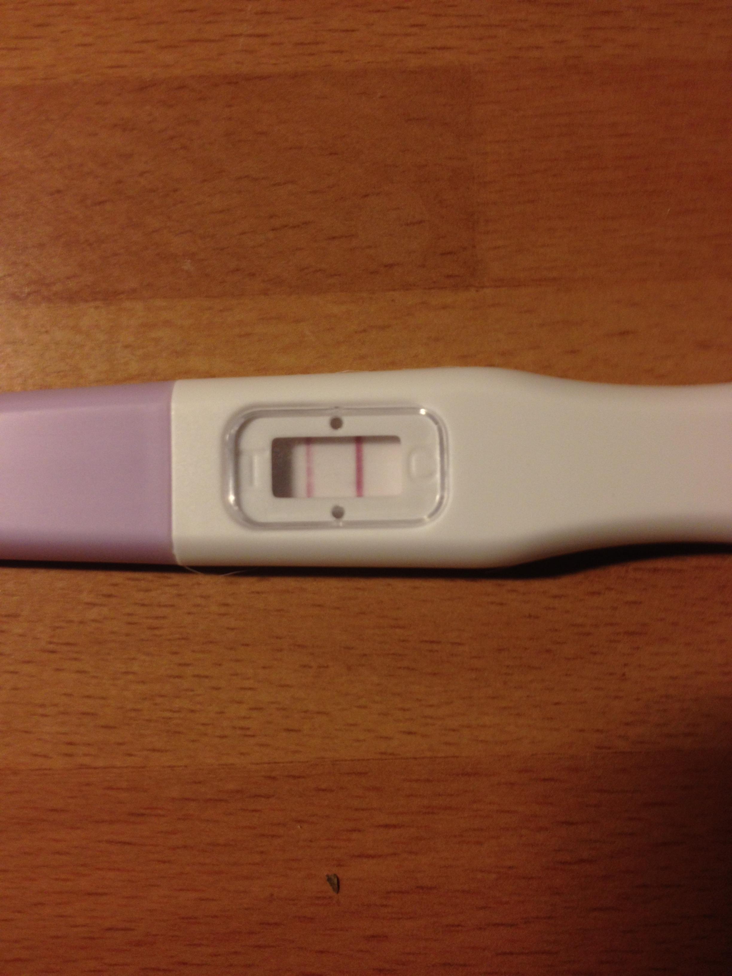 testa graviditet med ägglossningstest